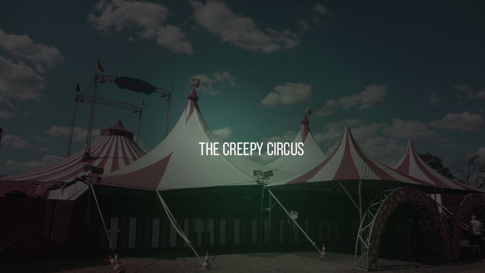 the Creepy Circus pakohuone Turku