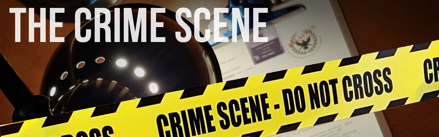 crime scene escape room